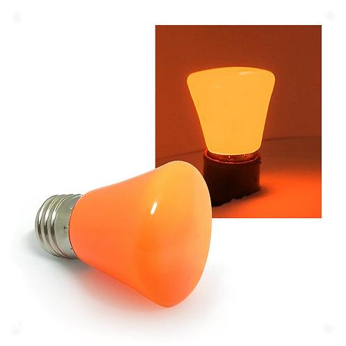 Lâmpada LED Decorativa COROA COLOR 1W 127V E27 - LARANJA