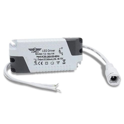 Driver Reator para Painel e Plafon LED - Embutir / Sobrepor 12W a 18W Bivolt