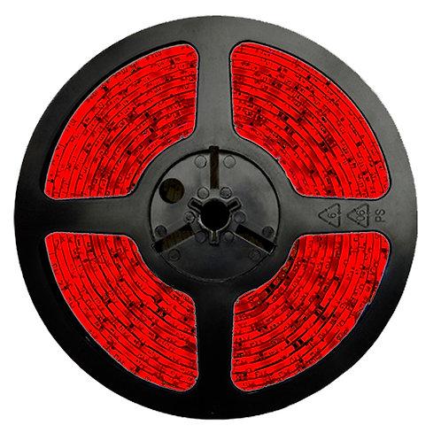 FITA LED 3528 IP20 12V/36W - Rolo 5m (300 leds) - Vermelha