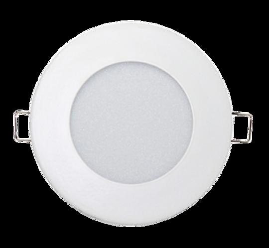 Luminária Led de Embutir 12W Downlight Redonda Slim Branco Frio