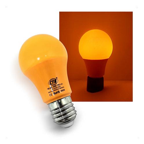 Lâmpada LED Decorativa A60 COLOR 7W Bivolt E27 - LARANJA