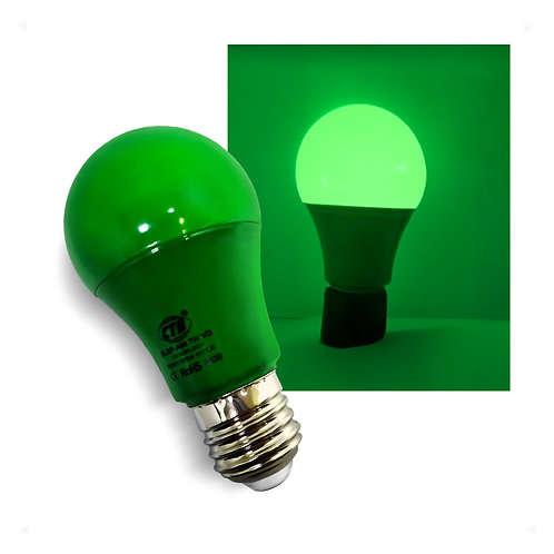 Lâmpada LED Decorativa A60 COLOR 7W Bivolt E27 - VERDE