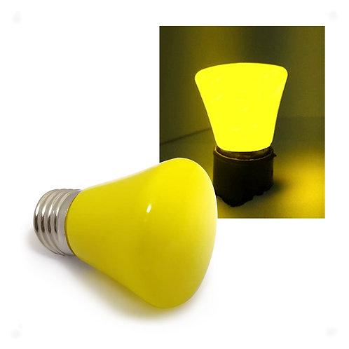 Lâmpada LED Decorativa COROA COLOR 1W 127V E27 - AMARELA