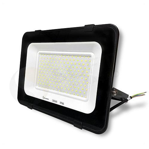 Refletor Holofote Micro LED SMD 300W Slim Bivolt IP66 6500K