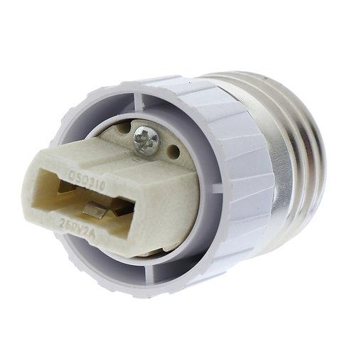 Adaptador Soquete Conversor de Base E27 Para Lâmpada Base G9