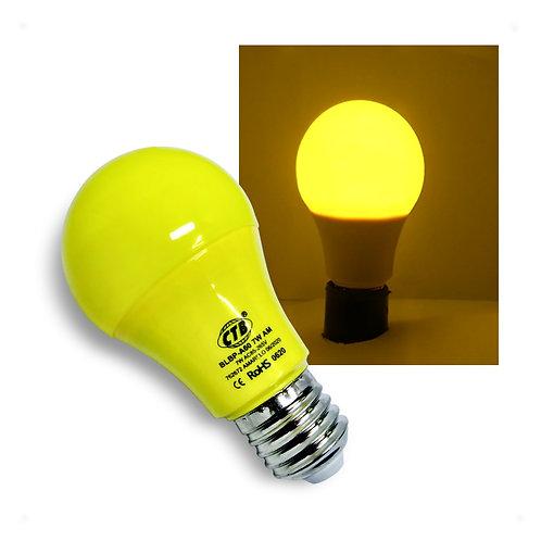 Lâmpada LED Decorativa A60 COLOR 7W Bivolt E27 - AMARELA