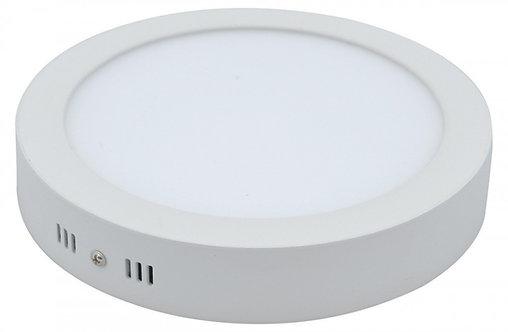 Plafon Sobrepor Redondo 24W Branco Frio/Branco Quente