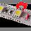 Thumbnail: FITA LED 5050 IP20 12V/60W - Rolo 5m (300 leds) Branco Quente 3000K