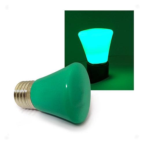 Lâmpada LED Decorativa COROA COLOR 1W 127V E27 - VERDE