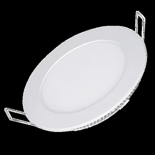 Luminária Led de Embutir 15W Downlight Redonda Branco Frio/Branco Quente