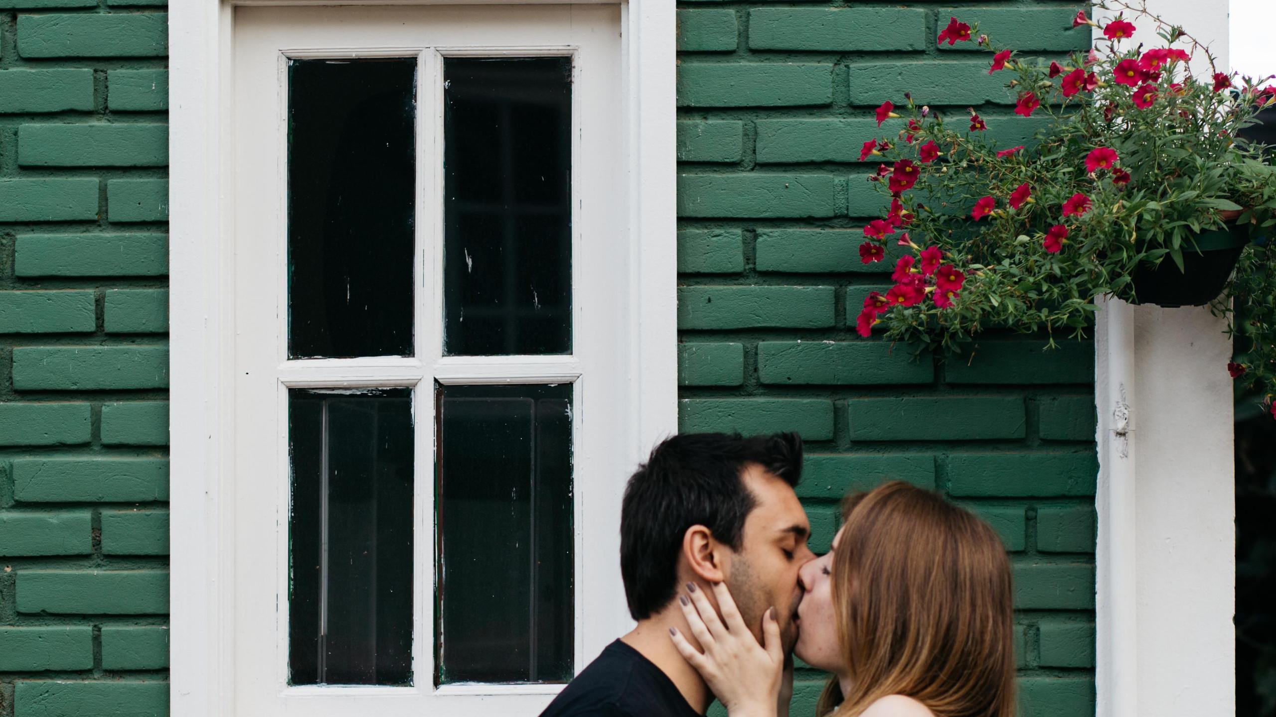 ensaio pré wedding em Holambra