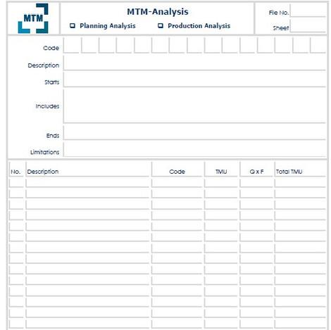 MTM-Analysis
