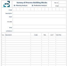 Survey of Process Building Blocks