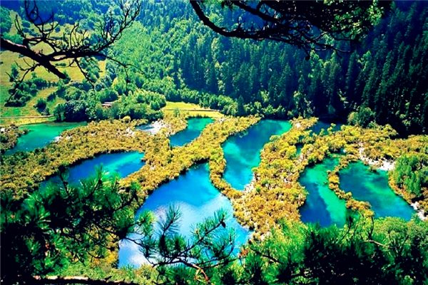 Jiuzhaigou Valley_ China_副本1