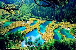 Jiuzhaigou Valley_ China_副本1