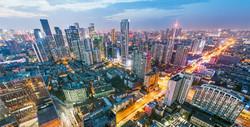 chengdu city view