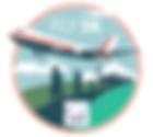 the fly 5k logo