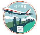 the fly 5k logo