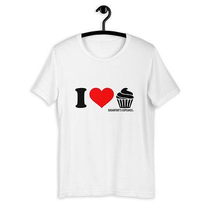 I Heart Cupcakes T-shirt