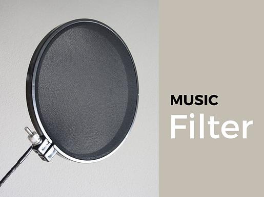 Music Filter Blog
