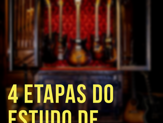 4 Etapas do Estudo de Guitarra