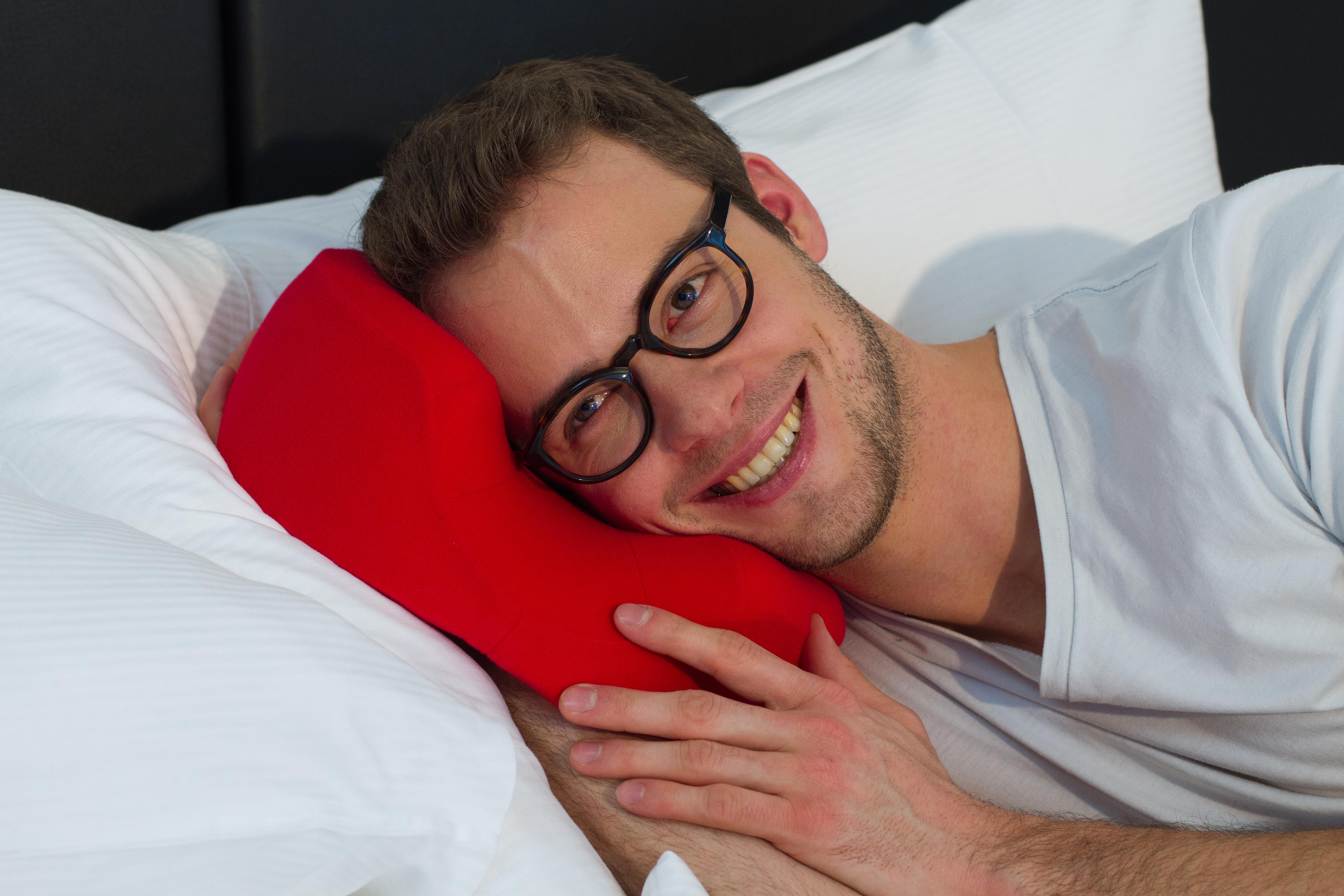 eyePAD® Kissen für Brillenträger