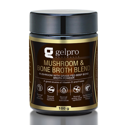 Mushroom & Bone Broth Blend - 100g