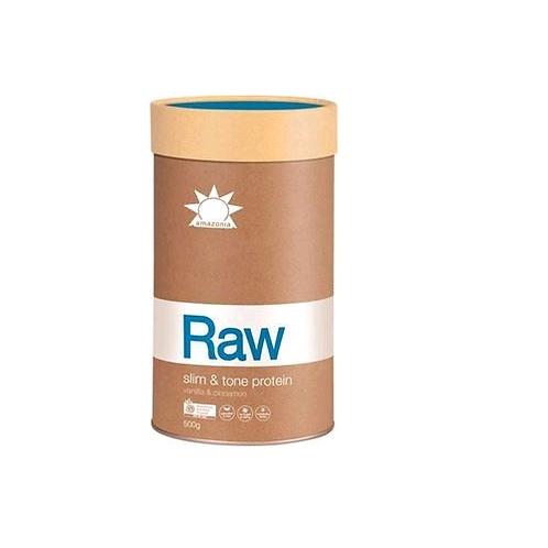 Amazonia Raw Protein Slim and Tone Vanilla Cinnamon 500g