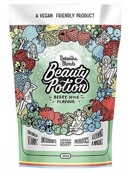 Botanika Blends Beauty Potion - Berry Nice  Vegan Collagen Boost 300g