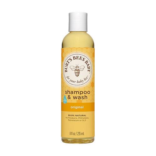Burts Bees Baby Bee Shampoo and Body Wash Tear Free 236ml