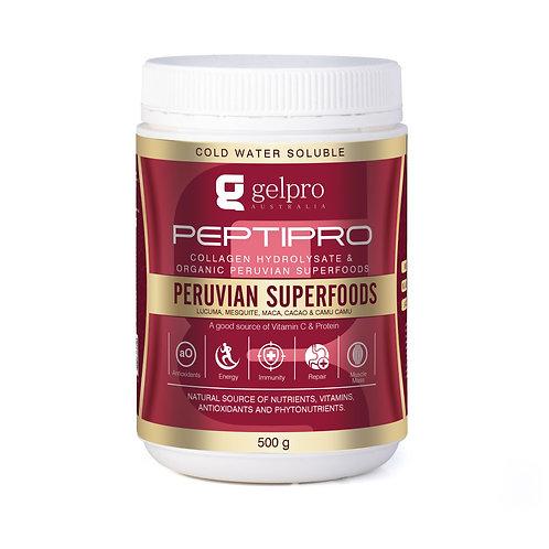 Peptipro Collagen Hydrolysate Peruvian SuperBlend - 500g