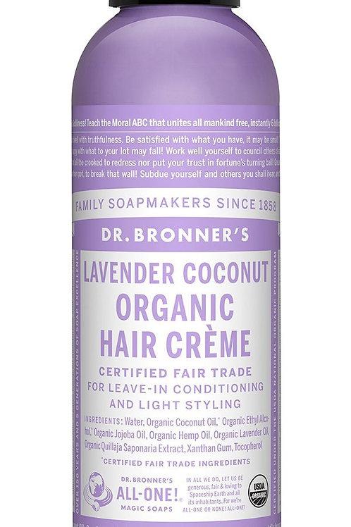 Dr Bronner's Organic Hair Care - Hair Creme