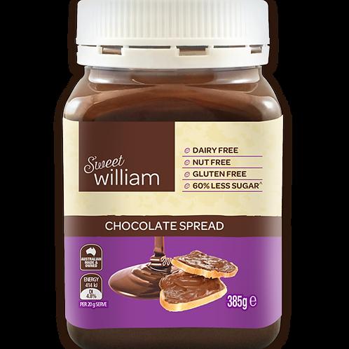 Sweet William Choc Spread G/F 385g