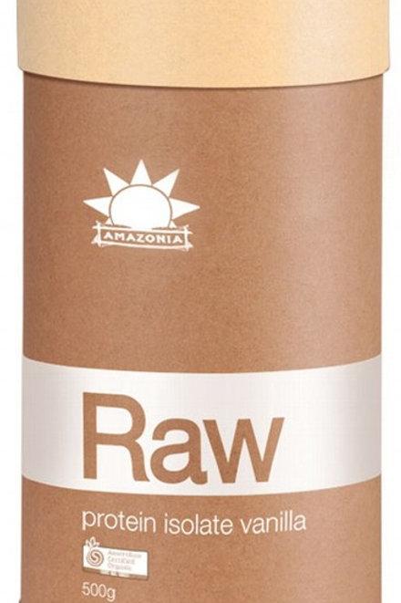 Amazonia Raw Protein Isolate Vanilla 500g