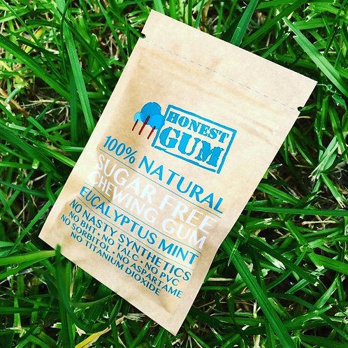 Honest Gum 100% Natural Sugar Free Chewing Gum