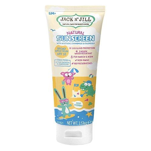 Jack N' Jill Natural Sunscreen with Chamomile & Calendula SPF30 100g