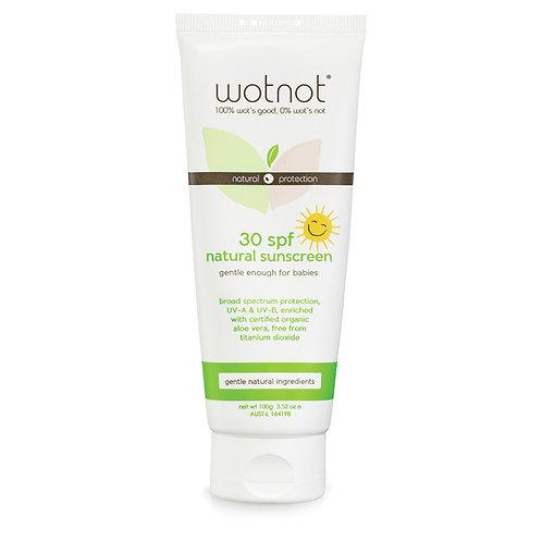 Wotnot 30 Plus SPF Natural Sunscreen
