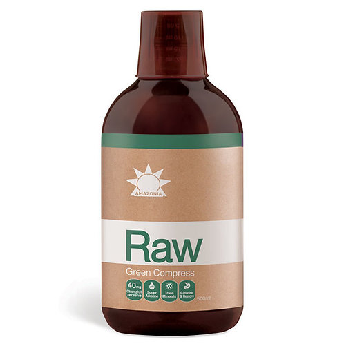 Amazonia Raw Green Compress Liquid 500ml