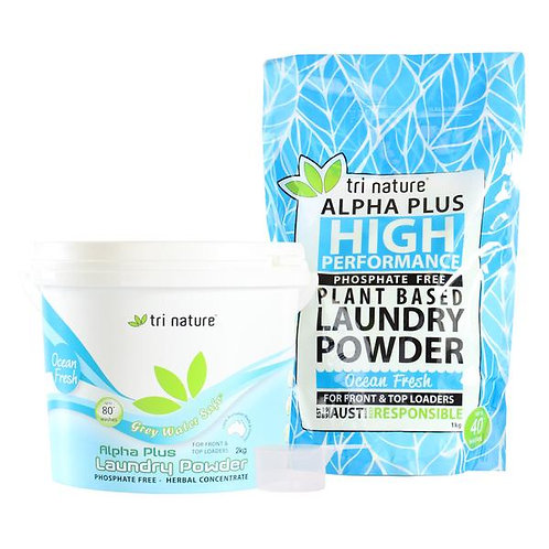 Tri Nature Alpha Plus Laundry Powder - Ocean Fresh