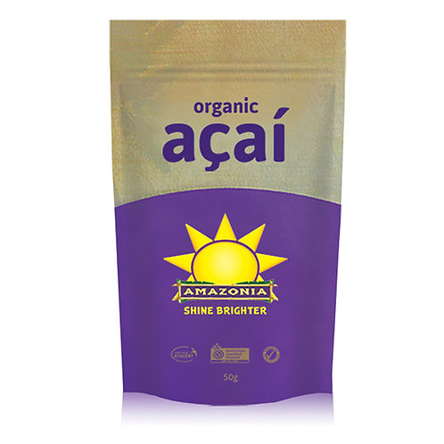 Amazonia Organic Acai Berry Powder 50g