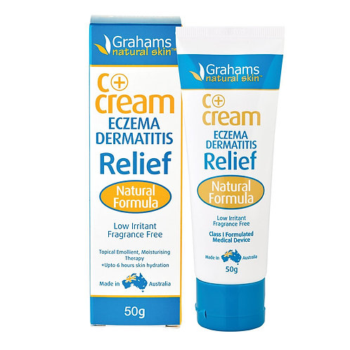 Grahams Natural C+ Cream (Eczema & Dermatitis Relief)