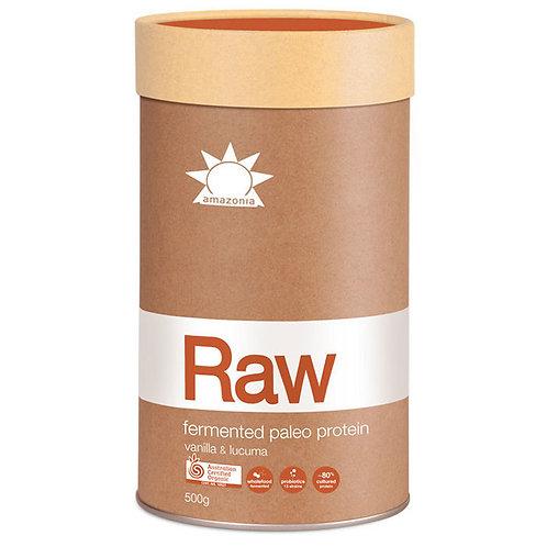Amazonia Raw Protein Paleo Fermented Vanilla Lucuma 500g