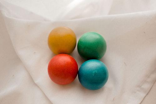 48 mm Wooden Balls - Set of 4