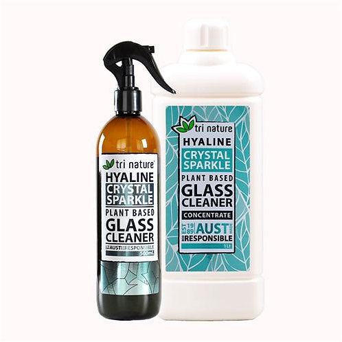 Tri Nature Hyaline Glass & Window Cleaner