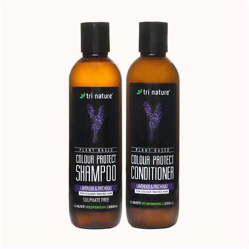 Tri Nature Colour Protect Shampoo/ Conditioner Lavender & Patchouli 250ml
