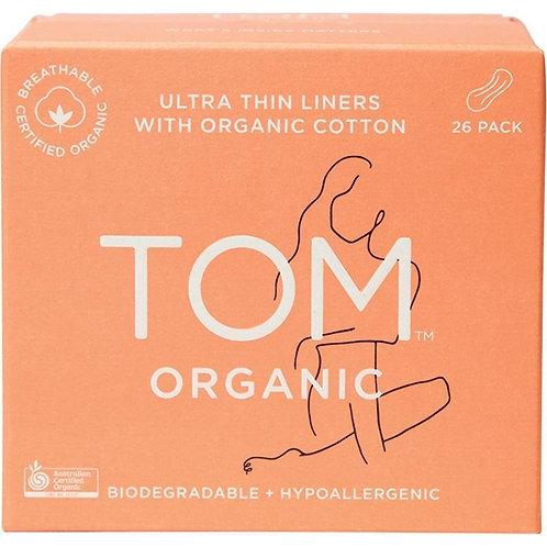 TOM Organics Ultra Thin Panty Liners