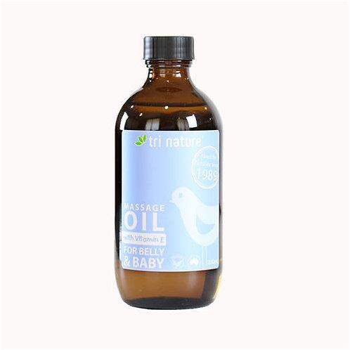 Tri Nature Baby Massage Oil 200ml