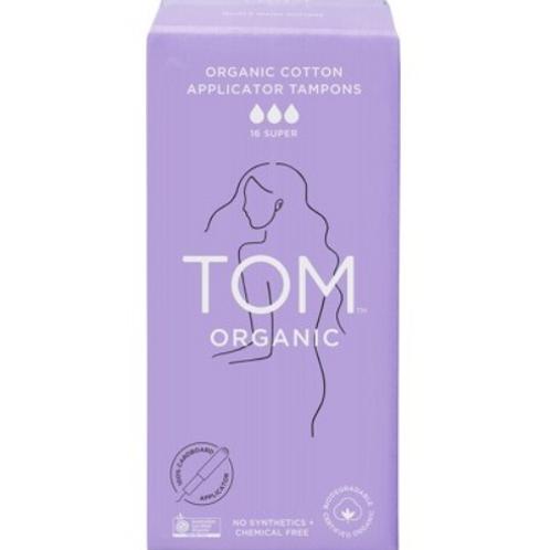 TOM Organic Applicator Tampons