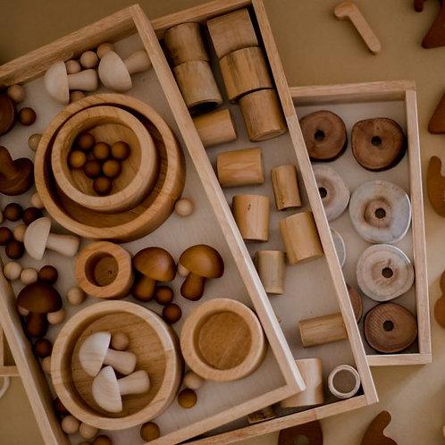 Montessori Nesting Trays