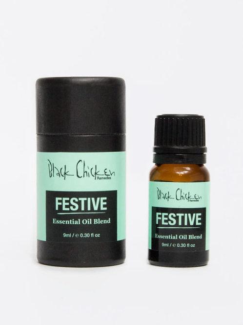 Black Chicken Remedies Festive Essential Oil Blend (9ml)